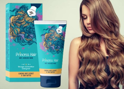 Princess Hair een haarversterkende behandeling om haaruitval te voorkomen
